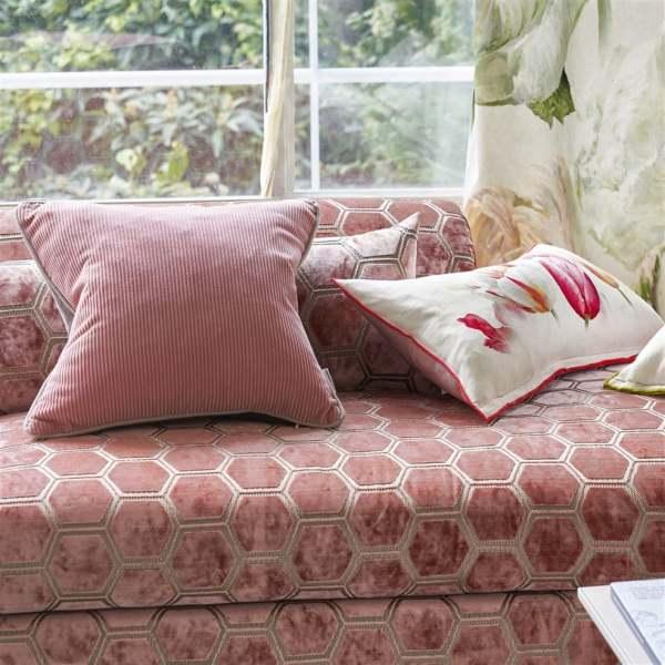 Kissen Corda aus Baumwollcord quadratisch 43cm x 43cm inkl. Füllung Designers Guild