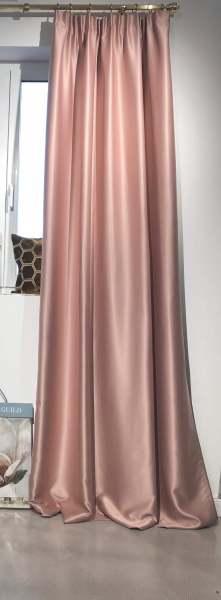 Vorhang Cosmic Verdunklungsvorhang Farbe: rose/rosa mit edlem Glanz I 1 Stück Jab Anstoetz