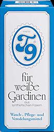 Professionelles Gardinenwaschmittel T9-Pulver für weiße Gardinen 200g von Intervall