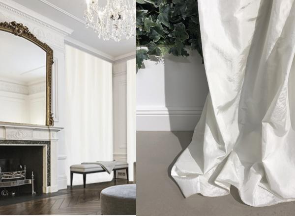 Vorhang Taft Opaline I Das Original - Italienischer Luxus in vielen Farben I Jedes Wunschmaß