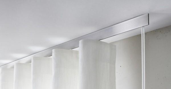 Interstil Sphäre W / Sphäre Pur Vorhangstange mit Schnurzug I Wellenvorhangsystem I 10% Rabatt