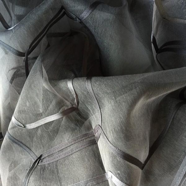 Gardine Ribbon mit grafischem Muster I 1 Stück I von Textil Kontor