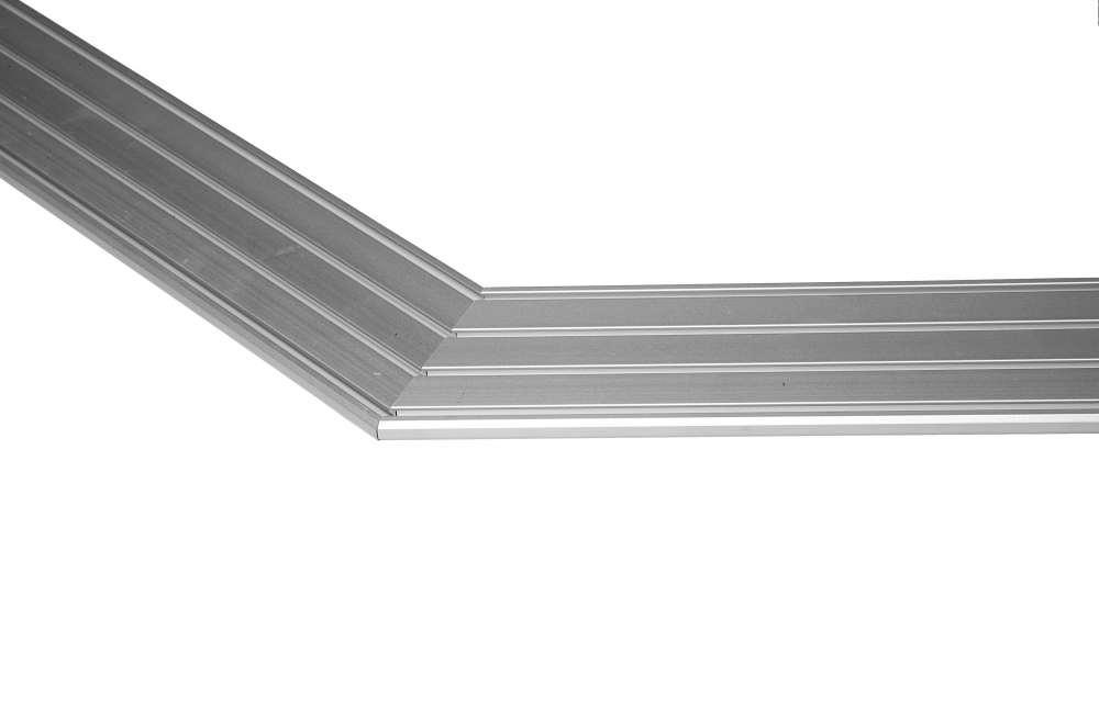 Gardinenschiene Aluminium 12 Läufig 6lfm Am Stück Made In Germany