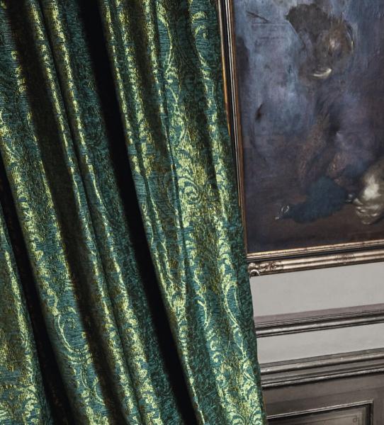 Deko Vorhang Paleo I Luxuriöses, ornamentalisches Muster I Grandezza