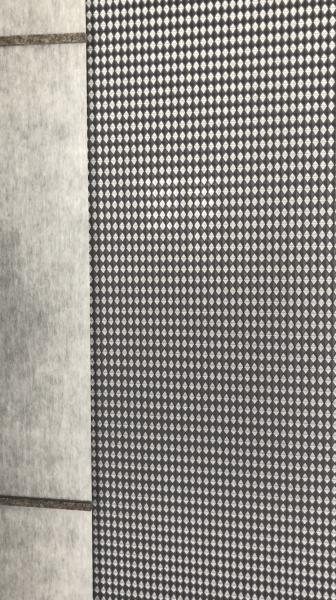 Flächenvorhang Fusion CS Moderne Waffelpikee-Optik I Raumteiler (+Objektgeeignet)
