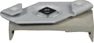 Schnellmontageclip SPS 3/4 zur Montage der APS 3 / 4 an die Träger von Systemdecken