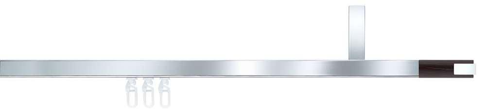 Gut bekannt Interstil Cubus 1 Innenlauf-Gardinenstange 1-läufig I 10% Rabatt TT51