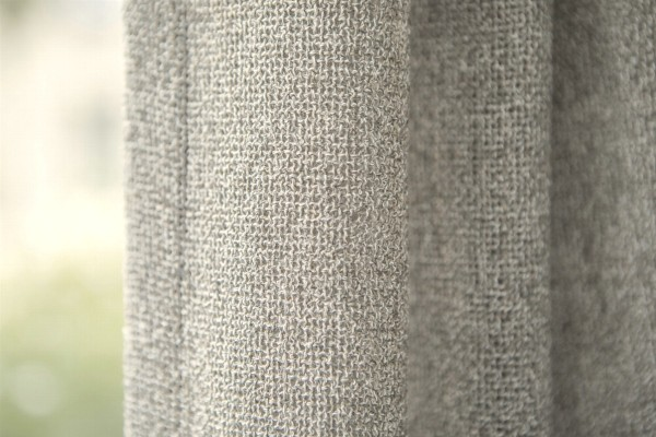 Vorhang Design Eventually grobe Struktur I Naturtöne I blickdicht auf Maß Chivasso