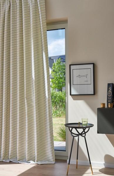 Vorhang Deko Vector mit eingewebtem Glanzeffekt I Art Deco I Schienen & Stangen by Jab