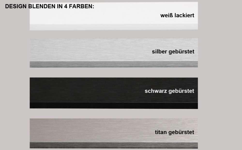 Gut gemocht Gardinenschiene Aluminium 2/3-läufig - 6lfm am Stück - Made in Germany JC87