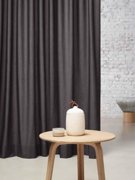 Vorhang Prisma Plain I 100% Baumwolle halbtransparent I 20 Uni Farben Nya