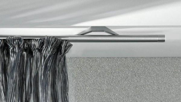 Gardinenstange Quantum 20 mit Innenlauf - Deckenmontage von Interstil