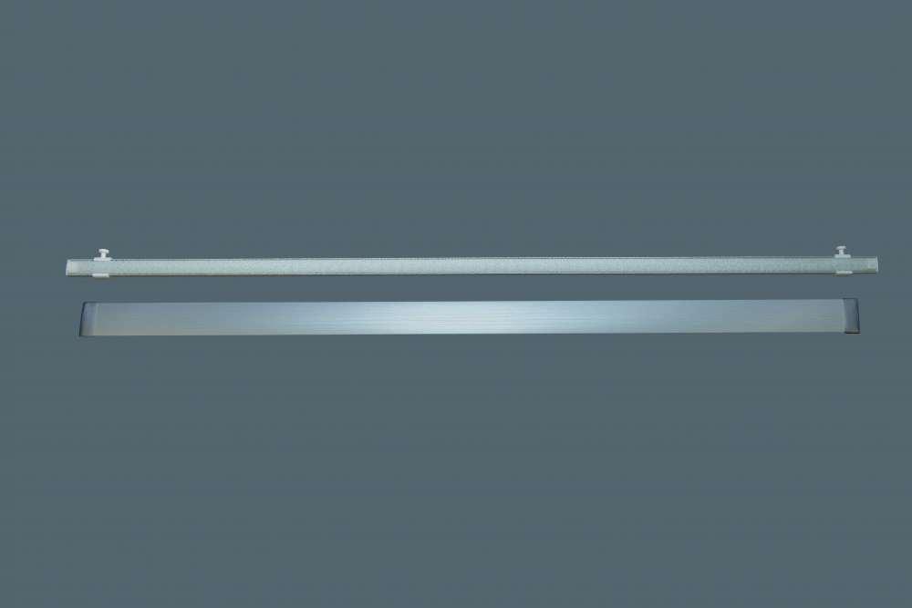 Flächenvorhangschiene Aluminium 12 Läufig Bis 6lfm Am Stück