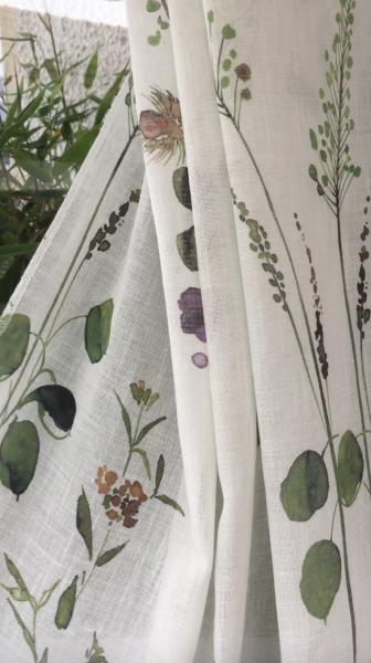 Vorhang Jardin I mit Blumenmuster I 1 Stück I Jab Anstoetz