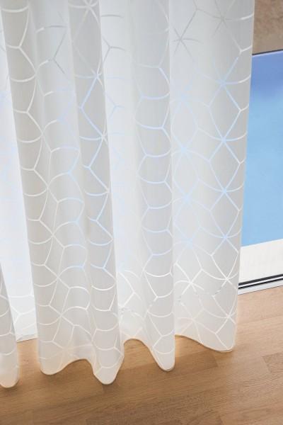 Vorhang Stairway Graphischer Ausbrenner auf Maß für Vorhangschienen& Stangen