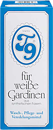Profi Gardinenwaschmittel T9-Pulver für weiße Gardinen 400 g von Intervall