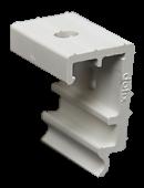 Wand-/ Deckenhalter für das Faltrollosystem allround32 von Döfix