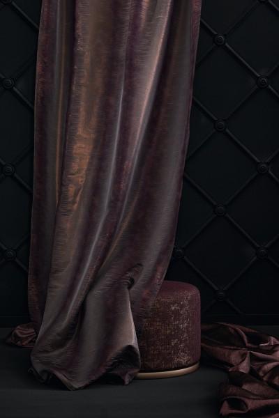 Vorhang Schal Amethyst Elegant auf Maß für Vorhangschienen,Stangen