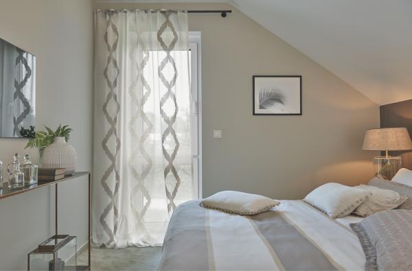 Vorhang Massimo I Grafisches Muster/ Boho Style I 1 Stück I Jab Anstoetz