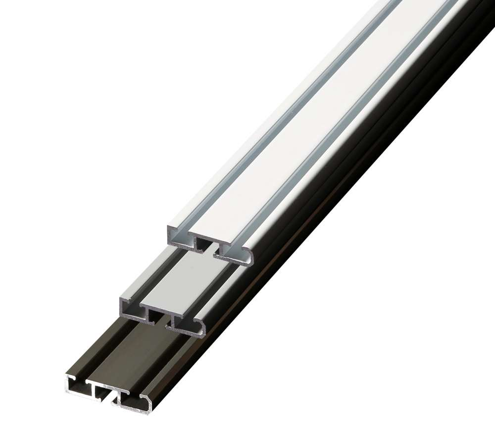 Aluminium Gardinenschiene 12 Läufig Bis 6lfm Made In Germany