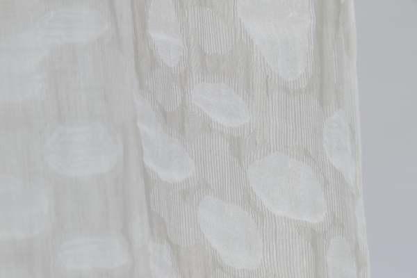 Design Vorhang Dazer mit organischem Muster I Natürliche Farbtöne I blickdicht Kinnasand
