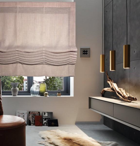 Design Faltrollo Style Pure in col. rose I Ideen für Räume